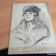 Coleccionismo de Revistas y Periódicos: NUEVO MUNDO 31 MARZO 1922 DEPORTES FEMENINOS ESPAÑA, DRA QUADRA BORDES, (AB-2). Lote 198747251
