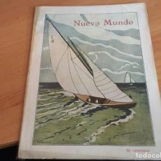 Coleccionismo de Revistas y Periódicos: NUEVO MUNDO 29 SEPTIEMBRE 1922 CIRCUITO AEREO GRAN BRETAÑA, MARQUES MASNOU, (AB-2). Lote 198748215
