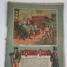 Coleccionismo de Revistas y Periódicos: REVISTA LAS ESCUADRAS DE CATALUÑA - EJEMPLAR Nº 3 - ROBO EN LA RECTORIA DE CASTELLFOLLIT - AÑO 1900. Lote 198790903