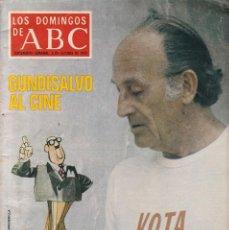 Coleccionismo de Revistas y Periódicos: LOS DOMINGOS DE ABC - 2 DE OCTUBRE DE 1977. Lote 198793330