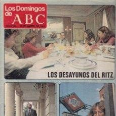 Coleccionismo de Revistas y Periódicos: LOS DOMINGOS DE ABC - 15 DE MARZO DE 1981. Lote 198793707