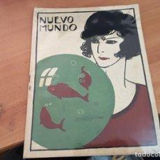 Coleccionismo de Revistas y Periódicos: NUEVO MUNDO 26 NOVIEMBRE 1920 MARIO ROSO DE LUNA, SERAFIN ALVAREZ QUINTERO, (AB-2). Lote 198825032