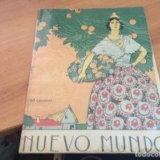 Coleccionismo de Revistas y Periódicos: NUEVO MUNDO 23 MARZO 1923, IV FERIA MUESTRAS BARCEONA, DEPORTES EN GUADARRAMA (AB-2). Lote 198827382