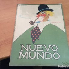Coleccionismo de Revistas y Periódicos: NUEVO MUNDO 27 ABRIL 1923 SALON AUTOMOVIL MADRID, (AB-2). Lote 198830988