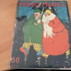 Coleccionismo de Revistas y Periódicos: NUEVO MUNDO 20 FEBRERO 1925 PARTIDO FUTBOL ENTRE BARCELONA Y ESPAÑOL, PISTA DE PRICE (AB-2). Lote 198832358