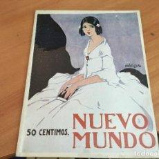 Coleccionismo de Revistas y Periódicos: NUEVO MUNDO 2 NOVIEMBRE 1923 INAGURACION AUTODROMO SITGES (AB-2). Lote 198837206