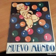 Coleccionismo de Revistas y Periódicos: NUEVO MUNDO 2 OCTUBRE 1925 PRINCESA MAFALDA, INVASION AMARILLA, (AB-2). Lote 198838010