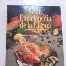 Coleccionismo de Revistas y Periódicos: GRAN ENCICLOPEDIA DE LA COCINA VOLUMEN 3. ABC: PESCADOS. MARISCOS (CRUSTACEOS, MOLUSCOS). VINOS. Lote 198838517