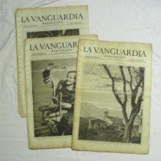 Coleccionismo de Revistas y Periódicos: LA VANGUARDIA NOTAS GRAFICAS AÑO 1930 MESES MARZO, ABRIL, MAYO Y OCTUBRE. Lote 198863632