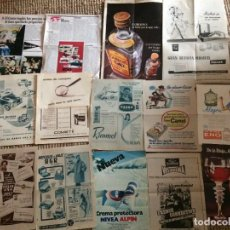 Coleccionismo de Revistas y Periódicos: PUBLICIDAD LOTE 12. Lote 198884851