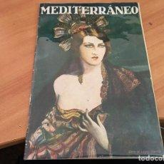 Coleccionismo de Revistas y Periódicos: MEDITERRANEO 10 SEPTIEMBRE 1927 VUELTA CICLISTA CATALUÑA, ROSAS, CAMPEONATO NATACION (COIB69). Lote 198927868