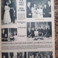 Coleccionismo de Revistas y Periódicos: BERMEJO SANCHEZ GALVAN DE GRANDA. Lote 198931371