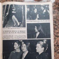 Coleccionismo de Revistas y Periódicos: GRACE KELLY CAROLINA DE MONACO EN INGLATERRA. Lote 198931855