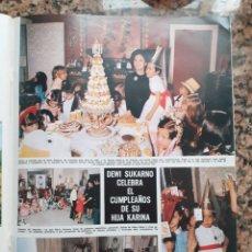 Coleccionismo de Revistas y Periódicos: DEWI SUKARNO. Lote 198931956