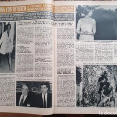 Coleccionismo de Revistas y Periódicos: FIONA VON THYSEN THYSSEN. Lote 198932485