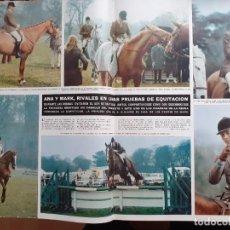 Coleccionismo de Revistas y Periódicos: ANA DE INGLATERRA MARK PHILLIPS. Lote 198933086