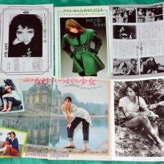 Coleccionismo de Revistas y Periódicos: ISABELLE ADJANI RECORTES JAPAN CLIPPINGS JAPON. Lote 198965017