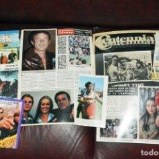 Coleccionismo de Revistas y Periódicos: ROBERT CONRAD RECORTES CLIPPINGS . Lote 198965213