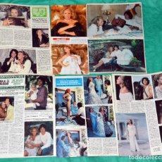 Coleccionismo de Revistas y Periódicos: URSULA ANDRESS RECORTES CLIPPINGS COVERS PORTADAS. Lote 198965253
