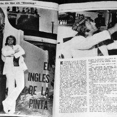 Coleccionismo de Revistas y Periódicos: MALCOLM ROBERTS RECORTE CLIPPINGS ARGENTINA. . Lote 199167463