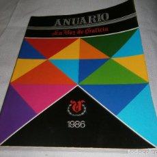Coleccionismo de Revistas y Periódicos: ANUARIO LA VOZ DE GALICIA 1986. Lote 199169620