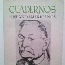 Coleccionismo de Revistas y Periódicos: CUADERNOS HISPANOAMERICANOS. Nº 250-252. REVISTA. OCTUBRE, 1970 - ENERO, 1971. Lote 199170257