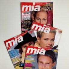 Coleccionismo de Revistas y Periódicos: REVISTAS MÍA (LOTE DE 4). Lote 199170426