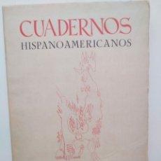 Coleccionismo de Revistas y Periódicos: CUADERNOS HISPANOAMERICANOS. Nº 253 254. REVISTA. ENERO FEBRERO, 1971. Lote 199170593