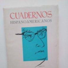 Coleccionismo de Revistas y Periódicos: CUADERNOS HISPANOAMERICANOS. Nº 257 258. REVISTA. MAYO JUNIO, 1971. Lote 199170652