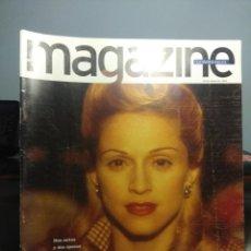 Coleccionismo de Revistas y Periódicos: MAGAZINE : MADONNA ( EVITA, 10 PAGINAS ) + ANTONIO BANDERAS ( EVITA, 4 PAG. ) + EVA PERON (6 PAG.. Lote 199197903