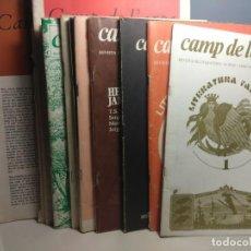 Coleccionismo de Revistas y Periódicos: 14 EJEMPLARES DE CAMP DE L´ARPA, REVISTA DE LITERATURA ( NUMEROS SUELTOS DESDE 1975 A 1982 ). Lote 199236208