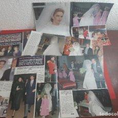 Coleccionismo de Revistas y Periódicos: BODA SOFIA HABSBURGO Y MARIO HUGO DE WINDISCH-GRAETZ -ENTREVISTA-REPORTAJE- RECORTE 21 PAG AÑO 1990. Lote 199306053