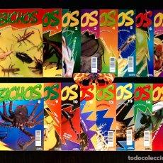 Coleccionismo de Revistas y Periódicos: LOTE 15 FASCÍCULOS COLECCION BICHOS + GAFAS 3D Y POSTER. Lote 199326551