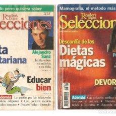 Coleccionismo de Revistas y Periódicos: SELECCIONES READER´S DIGEST. LOTE: 16 NROS. (VER DESCRIPCIÓN)PENELOPE CRUZ, PAUL MCCARTNEY . (B/A57). Lote 199366478