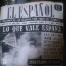Coleccionismo de Revistas y Periódicos: EL ESPAÑOL, AÑOS 50 ILUSTRADA, LOTE. Lote 199400660