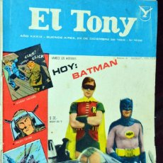Coleccionismo de Revistas y Periódicos: BATMAN ADAM WEST BURT WARD REVISTA ARGENTINA COMIC MAGAZINE 1966.. Lote 199435277