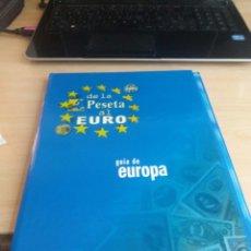 Coleccionismo de Revistas y Periódicos: DE LA PESETA AL EURO. HERALDO DE ARAGON. Lote 199812272