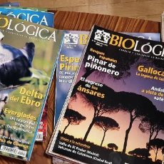 Collectionnisme de Revues et Journaux: LOTE REVISTA BIOLÓGICA . CONOCER Y CONSERVAR LA NATURALEZA. 1 AL 36 + REGALO Nº 49, 50 Y 51. Lote 199928676