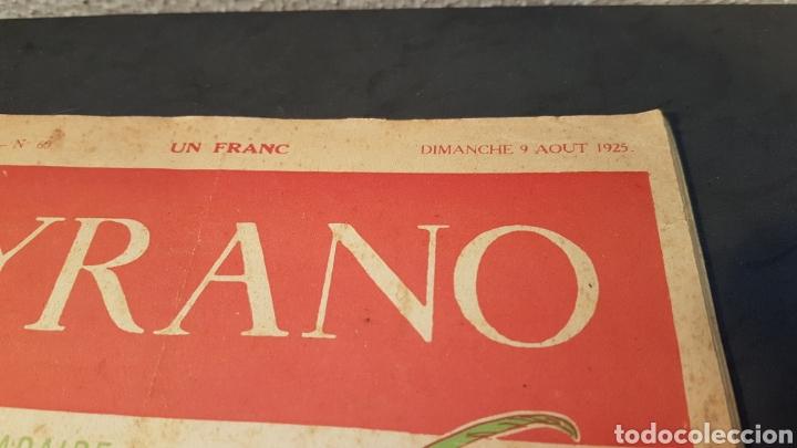 Coleccionismo de Revistas y Periódicos: LA GAZETTE SATIRIQUE DE CYRANO. PARIS, FRANCIA. ANNEE 1925, Dimanche 9 Aout. Revista satírica CYRANO - Foto 2 - 199975101