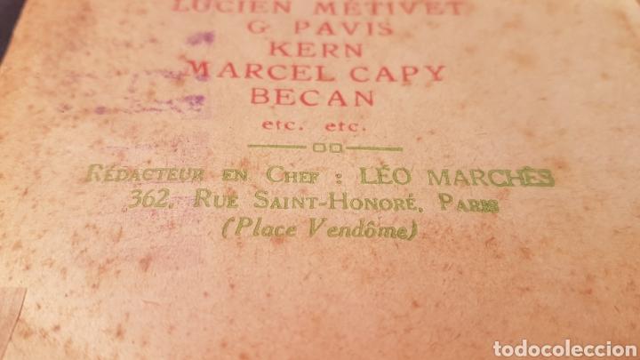 Coleccionismo de Revistas y Periódicos: LA GAZETTE SATIRIQUE DE CYRANO. PARIS, FRANCIA. ANNEE 1925, Dimanche 9 Aout. Revista satírica CYRANO - Foto 3 - 199975101