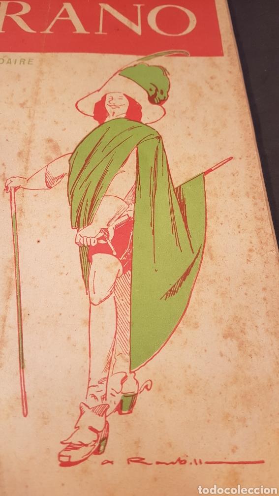 Coleccionismo de Revistas y Periódicos: LA GAZETTE SATIRIQUE DE CYRANO. PARIS, FRANCIA. ANNEE 1925, Dimanche 9 Aout. Revista satírica CYRANO - Foto 4 - 199975101