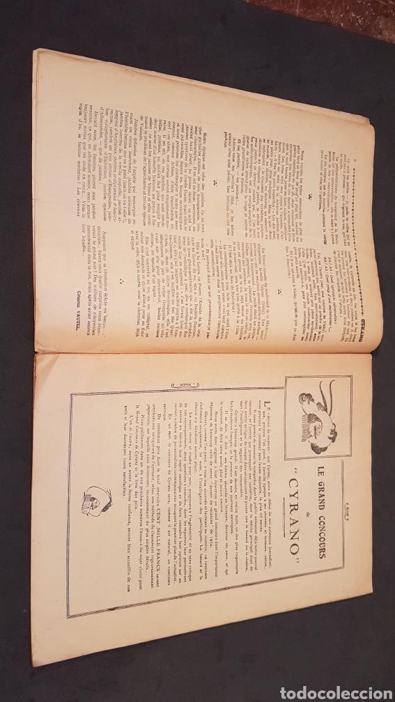 Coleccionismo de Revistas y Periódicos: LA GAZETTE SATIRIQUE DE CYRANO. PARIS, FRANCIA. ANNEE 1925, Dimanche 9 Aout. Revista satírica CYRANO - Foto 7 - 199975101