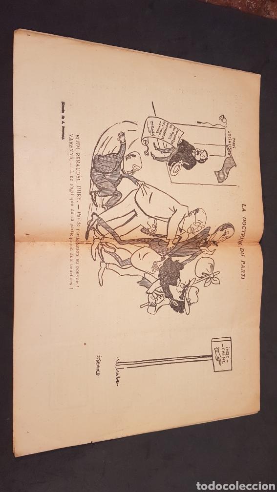 Coleccionismo de Revistas y Periódicos: LA GAZETTE SATIRIQUE DE CYRANO. PARIS, FRANCIA. ANNEE 1925, Dimanche 9 Aout. Revista satírica CYRANO - Foto 11 - 199975101