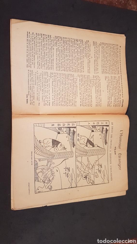 Coleccionismo de Revistas y Periódicos: LA GAZETTE SATIRIQUE DE CYRANO. PARIS, FRANCIA. ANNEE 1925, Dimanche 9 Aout. Revista satírica CYRANO - Foto 14 - 199975101