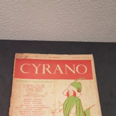 Coleccionismo de Revistas y Periódicos: LA GAZETTE SATIRIQUE DE CYRANO. PARIS, FRANCIA. ANNEE 1925, DIMANCHE 9 AOUT. REVISTA SATÍRICA CYRANO. Lote 199975101