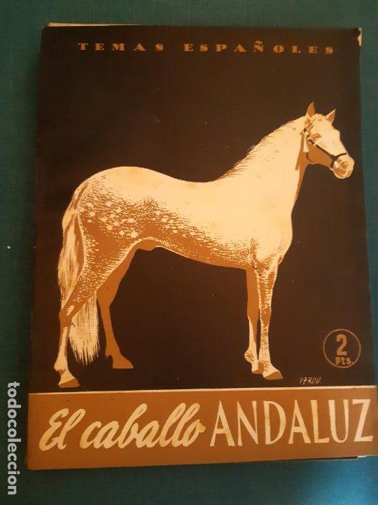 TEMAS ESPAÑOLES. EDITORIAL PUBLICACIONES ESPAÑOLAS. EL CABALLO ANDALUZ (Coleccionismo - Revistas y Periódicos Modernos (a partir de 1.940) - Otros)