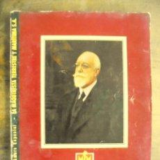 Coleccionismo de Revistas y Periódicos: METAM CENTENARIO NÚMERO ESPECIAL LA MAQUINISTA TERRESTRE Y MARÍTIMA 1855 1955. Lote 200177256