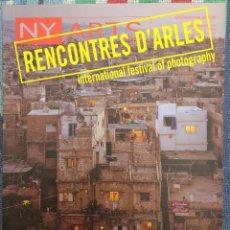 Coleccionismo de Revistas y Periódicos: NY ARTS, REVISTA DE FOTOGRAFÍA, VOL. 10, Nº 7/8, 2005 // ARTE CONTEMPORÁNEO FOTÓGRAFO PINTURA POESÍA. Lote 200643942