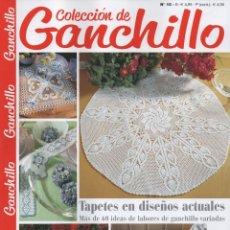 Coleccionismo de Revistas y Periódicos: COLECCION DE GANCHILLO N. 10 - TAPETES EN DISEÑOS ACTUALES (NUEVA). Lote 200814650