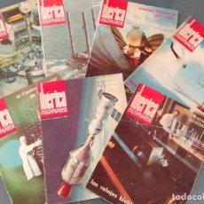 Coleccionismo de Revistas y Periódicos: LOTE DE REVISTAS IBÉRICA, ACTUALIDAD CIENTÍFICA, AÑOS 70. Lote 201114327